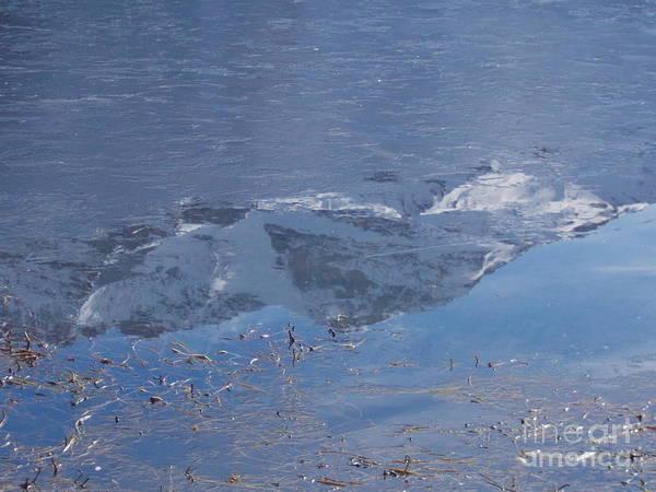 Wall Art - Photograph - Mountain Reflections 1 by Angelika Heidemann