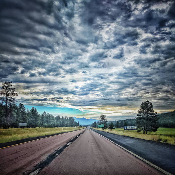 Photograph - Mountain Road by Mike Dunn