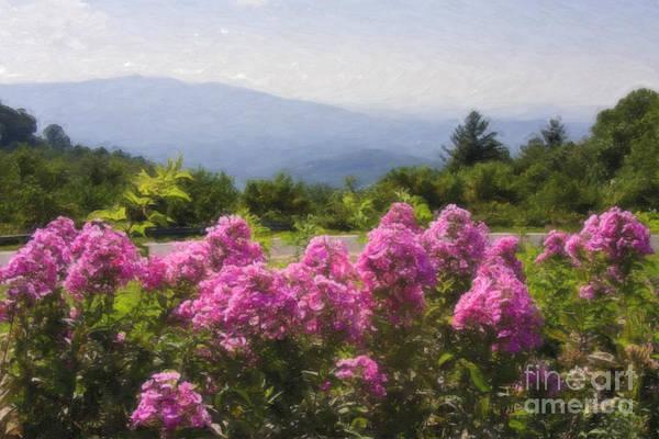 Digital Art - Mountain Scene by Jill Lang
