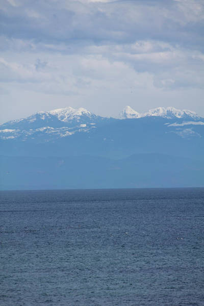 Photograph - Mountain Seascape by Donna L Munro