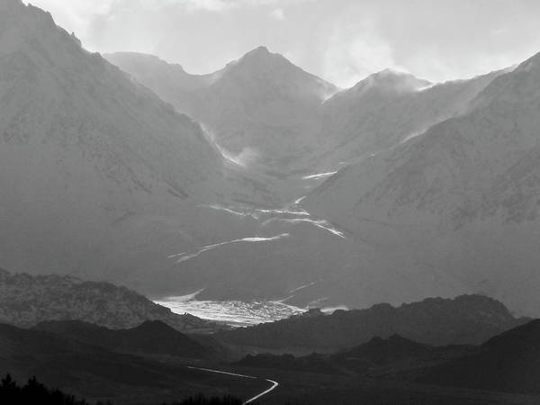 Wall Art - Photograph - Mountain Shadow by Alpha Pup