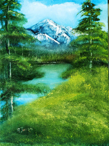 Painting - Mountain Spring by Barry Jones