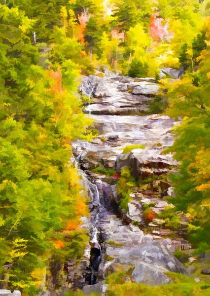 Chs Digital Art - Mountain Stream by Ches Black