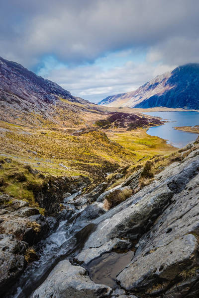 Photograph - Mountain Stream by Nick Bywater