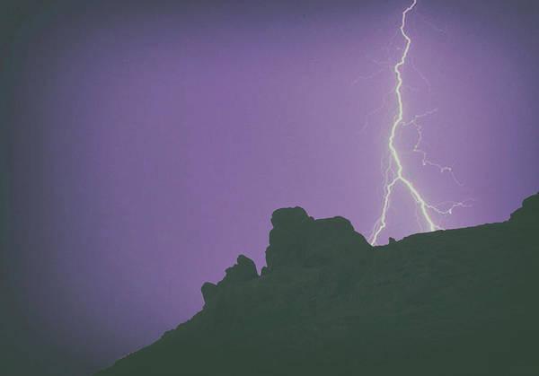 Peak District National Park Photograph - Mountain Strike by Martin Newman