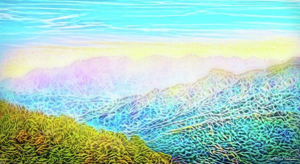 Mountain Sunrise Perceptions Art Print