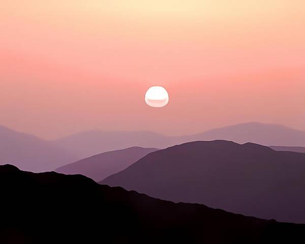 Wall Art - Photograph - Mountain Sunset by Gareth Davies