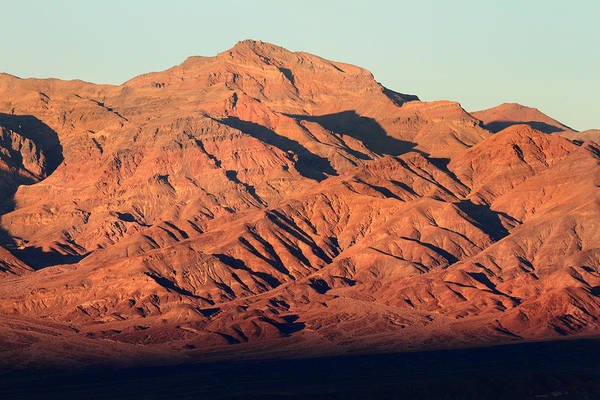 Photograph - Mountain Sunset In Death Valley National Park by Pierre Leclerc Photography