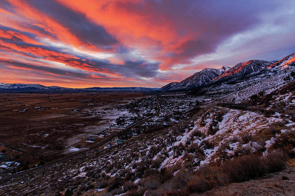 Wall Art - Photograph - Mountain Valley Sunrise Convergence by Mike Herron