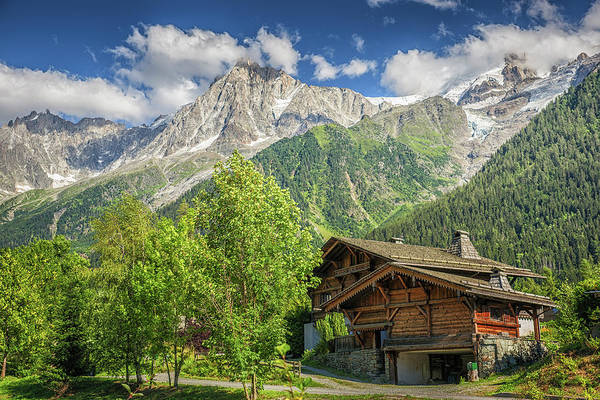 Photograph - Mountain View by Chris Boulton