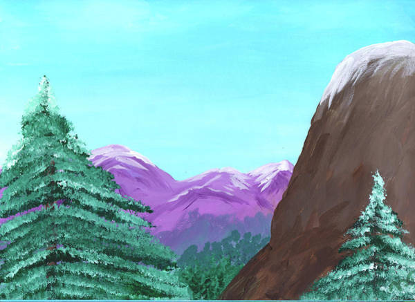 Painting - Mountain View by M Valeriano