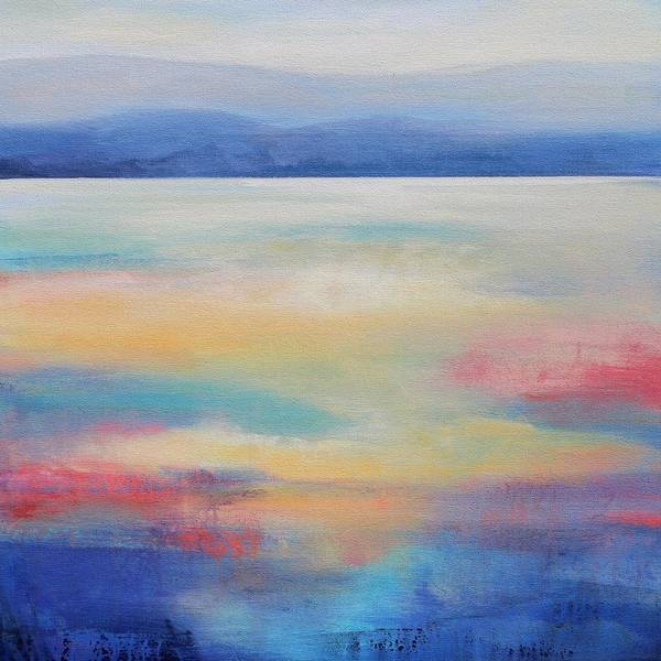 Wall Art - Painting - Mountain View by Karen Hale