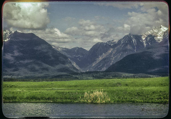 Mountain View Montana.... Art Print