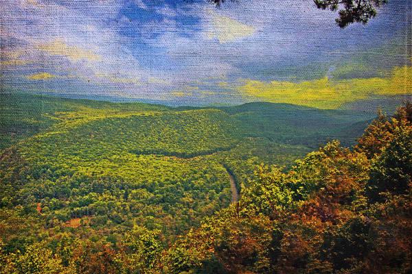 Digital Art - Mountain View by Rusty R Smith