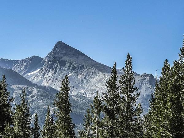 Photograph - Mountain View  Tioga Pass Area by NaturesPix
