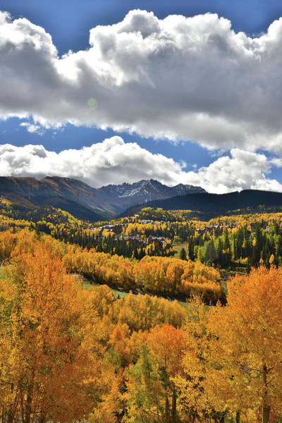 Photograph - Mountain Village Fall by Ray Mathis