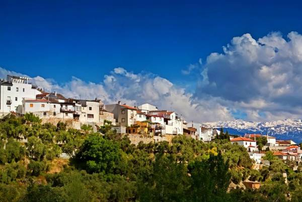 Photograph - Mountain Village In Spain by Tatiana Travelways
