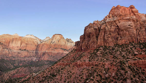 Photograph - Mountain Vista At Zion by James Woody