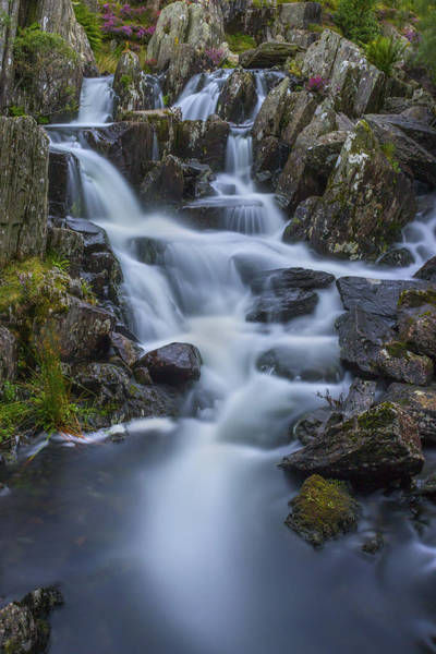 Photograph - Mountain Waterfall by Ian Mitchell