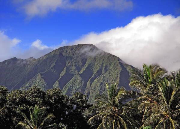 Wall Art - Photograph - Mountainous Oahu Island Hawaii by Brendan Reals