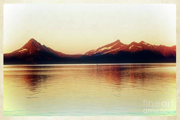 Photograph - Mountainous Skyline In Midsummer Light by Heiko Koehrer-Wagner