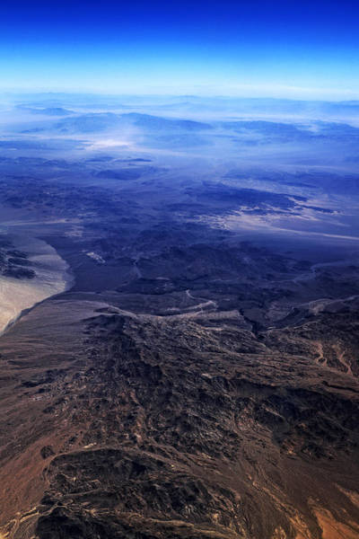 Photograph - Mountains And Desert by George Taylor