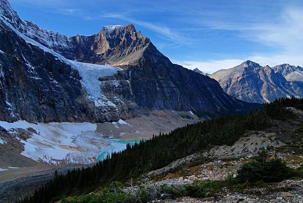 Photograph - Mountains And Glaciers by Larry Ricker