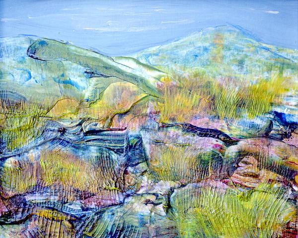 Painting - Mountains And Marsh by Regina Valluzzi