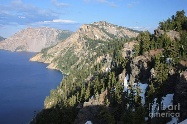 Photograph - Mountains Around Crater Lake by Carol Groenen