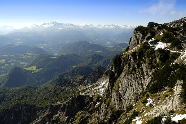 Photograph - On Top Of The Untersberg by Brenda Kean