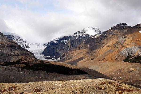 Wall Art - Photograph - Mountains Clouds And Glaciers 2 by Larry Ricker
