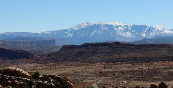 Photograph - Mountains In Moab - 5 by Christy Pooschke