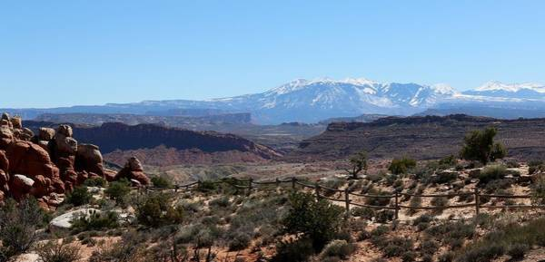 Photograph - Mountains In Moab - 6 by Christy Pooschke