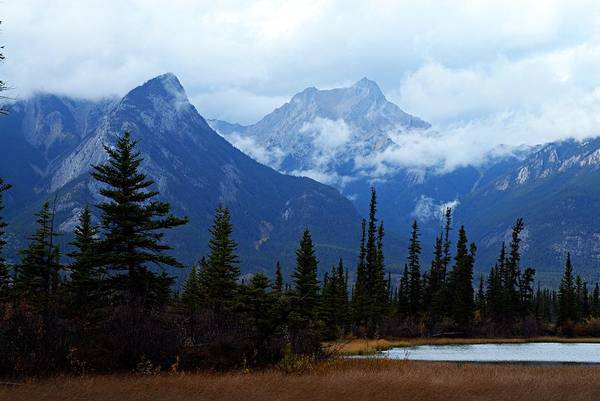 Photograph - Mountains In The Clouds by Larry Ricker