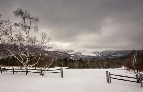 Photograph - Mountains In Winter by Robert Mitchell