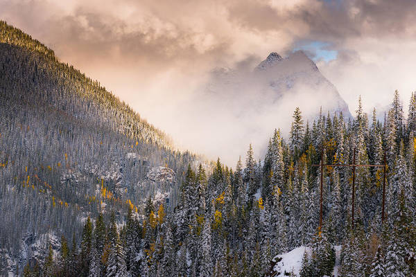 Photograph - Mountains Light by Chuck Jason