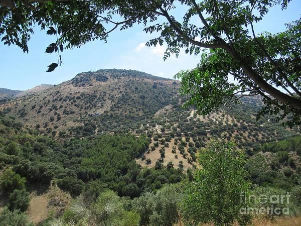 Photograph - Mountains Near Iznajar by Chani Demuijlder
