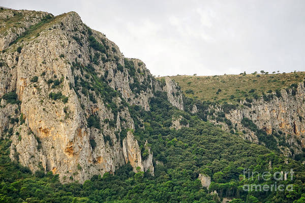 Wall Art - Photograph - Mountains Of Capri II by HD Connelly