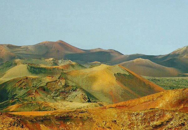 Lanzarote Digital Art - Mountains Of Fire by Jane Meakings