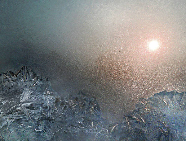 Photograph - Mountains Of Frost by Nancy Griswold