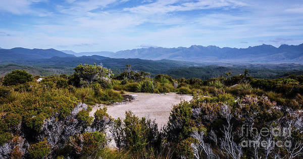 Photograph - Mountains Of Lake Pedder by Lexa Harpell