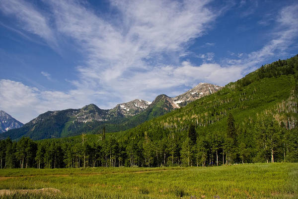 Photograph - Mountains Summer by Mark Smith