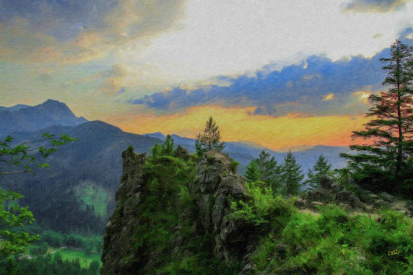 Painting - Mountains Tatry National Park - Pol1003778 by Dean Wittle