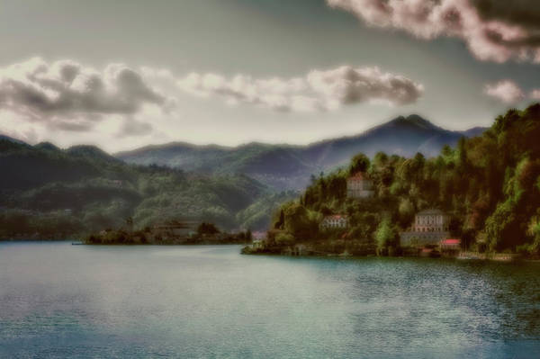 Photograph - Mountains View At Lago D'orta by Roberto Pagani