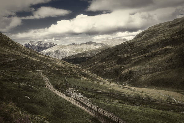 Photograph - Mountainscape In Val Valecia by Roberto Pagani