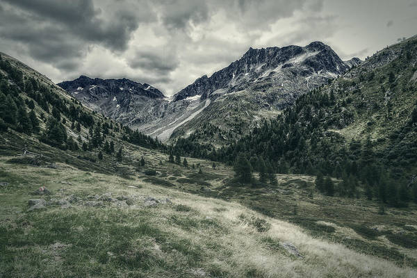 Photograph - Mountainscape In Val Nera by Roberto Pagani
