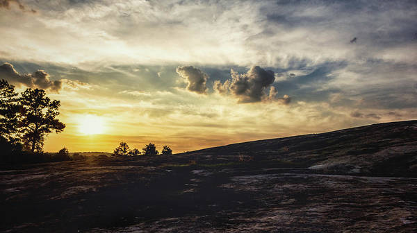 Photograph - Mountainside Sunset by Mike Dunn