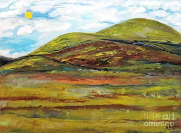 Digital Art - Mountaiscape 2  by Reina Resto
