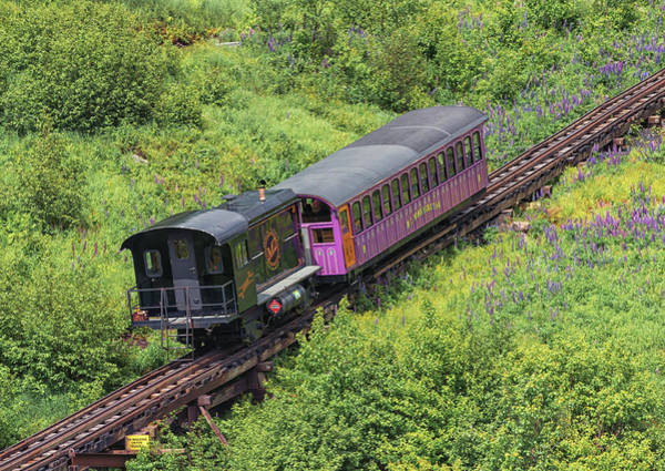 Photograph - Mount Washington Cog Railway Locomotive Algonquin by Brian MacLean