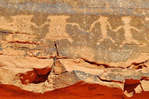 Photograph - Mouse's Tank Petroglyph Canyon Peace by Kyle Hanson